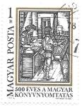 Sellos de Europa - Hungría -  aniversario