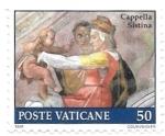 Stamps : Europe : Vatican_City :  capilla sixtina