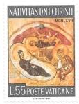 Sellos del Mundo : Europa : Vaticano : navidad