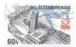 Stamps : Europe : Czechoslovakia :  AVION