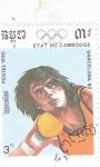 Stamps : Asia : Cambodia :  Olimpiada Barcelona-92