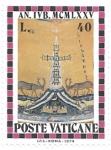Sellos del Mundo : Europa : Vaticano : grabado