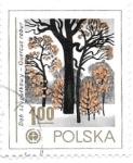 Sellos de Europa - Polonia -  roble