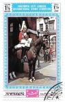 Stamps Yemen -  guardia a caballo