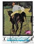 Stamps : Asia : Yemen :   caballo