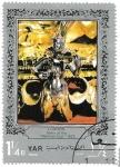 Stamps : Asia : Yemen :  arte