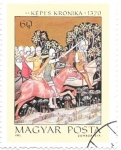 Sellos de Europa - Hungría -  Crónica medieval