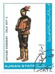 Stamps : Asia : United_Arab_Emirates :  capitan sXVII