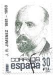 Sellos de Europa - España -  Literatura:Juan Ramón Jimenez