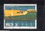 Sellos de Europa - Malta -  RESERVADO San Miguel la Valetta Y852