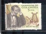 Sellos de America - Colombia -  Julio Arboleda