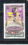 sello : Africa : Túnez : Tierra de Congresos