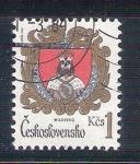 Sellos del Mundo : Europa : Checoslovaquia : RESERVADO escudos mylevsko Y2575