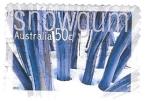 Sellos de Oceania - Australia -  nieve