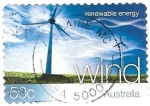 Sellos de Oceania - Australia -  viento