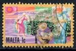 Stamps : Europe : Malta :  MALTA_SCOTT 593 $0.25