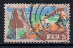 Stamps : Europe : Malta :  MALTA_SCOTT 594 $0.25