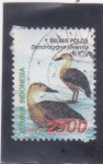 Stamps : Asia : Indonesia :  AVES- belibis polos