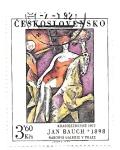 Sellos de Europa - Checoslovaquia -  pintura moderna