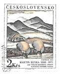 Stamps : Europe : Czechoslovakia :  pintura moderna