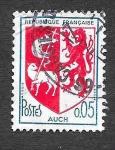 Stamps France -  1142 - Escudo de Auch