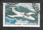 Sellos del Mundo : Europa : Francia : C34 - Morane Saulnier MS.760 Paris