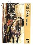 Stamps : Europe : Poland :  caballero alado