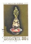 Sellos de Asia - Mongolia -  orfebrería