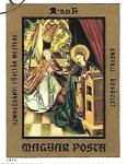 Stamps : Europe : Hungary :  pinura religiosa