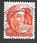 Stamps Europe - Italy -  815 - Diseño de la Capilla Sixtina