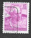 Stamps Europe - Italy -  816 - Diseño de la Capilla Sixtina
