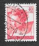 Stamps Europe - Italy -  820 - Diseño de la Capilla Sixtina