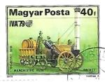 de Europa - Hungría -  antiguas máquinas de vapor