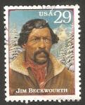 Sellos del Mundo : America : Estados_Unidos : 2307 - Leyenda del Oeste, Jim Beckwourth