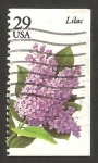 de America - Estados Unidos -  2160 - Flor Lila