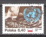 Sellos del Mundo : Europa : Polonia : 35 anv de la ONU 2530
