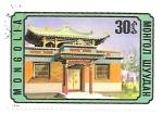de Asia - Mongolia -  arquitectura tradicional