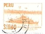 Sellos de America - Perú -  cañonera