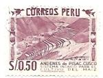 Sellos de America - Perú -  pisac
