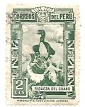 Sellos de America - Perú -  ave guanera