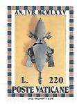 Sellos de Europa - Vaticano -  año jubilar 1975