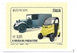 Stamps : Europe : Italy :  coches