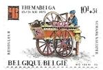 Stamps Belgium -  carrito