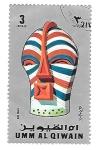 Sellos de Asia - Emiratos Árabes Unidos -  mascaras