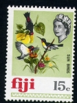 Stamps Oceania - Fiji -  Pajaros sol
