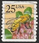 Stamps : America : United_States :  1827 - Abeja