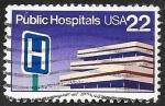 Sellos del Mundo : America : Estados_Unidos : 1627 - Hospital Público