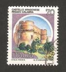 Stamps Italy -  1499 - Castillo Aragonese, Reggio Calabria