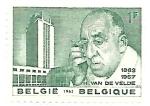 Sellos de Europa - Bélgica -  H. van de Velde