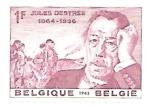 Sellos de Europa - Bélgica -  Jukes Destrée